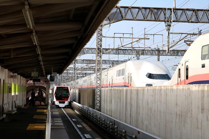 加茂宫站2号上行往大宫方向站台