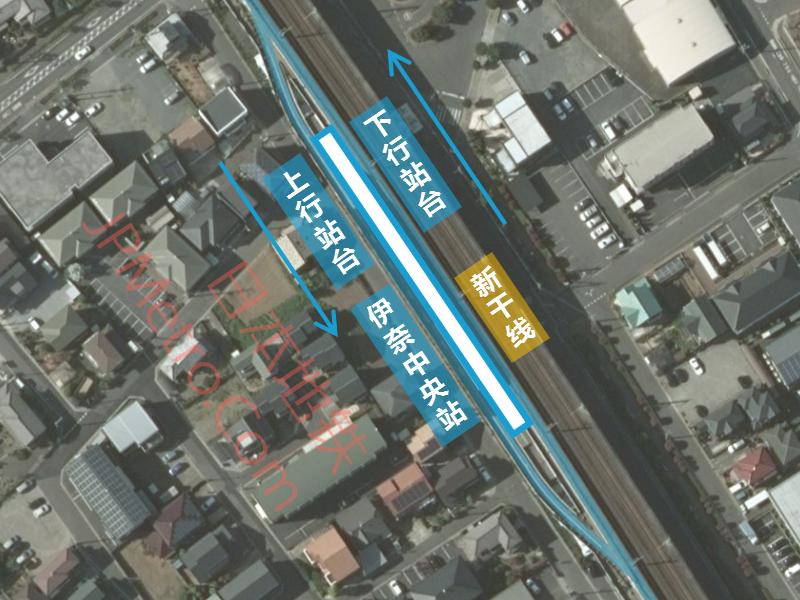 伊奈中央站卫星图