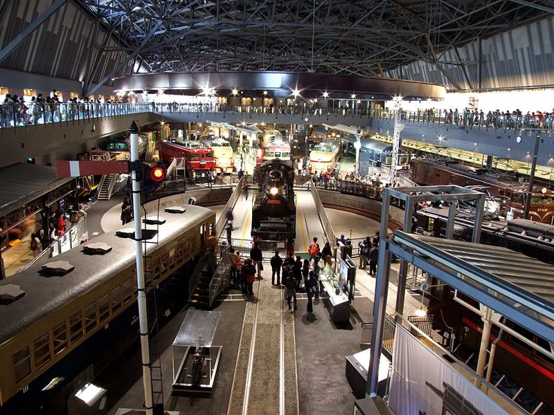 琦玉铁道博物馆内部