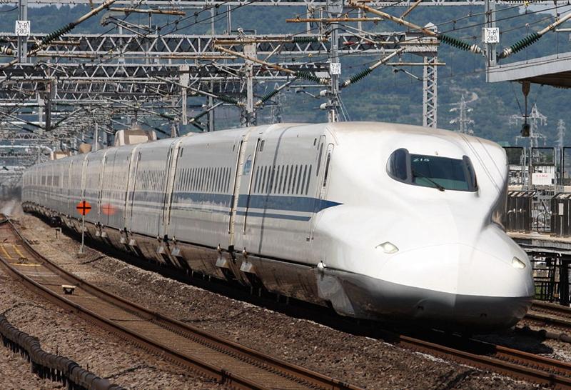 JR东海道N700系列车