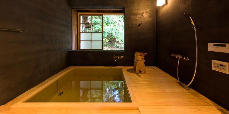 星岳内的浴室