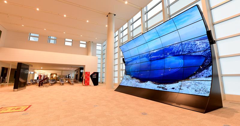新千岁机场国际航站楼候机大厅