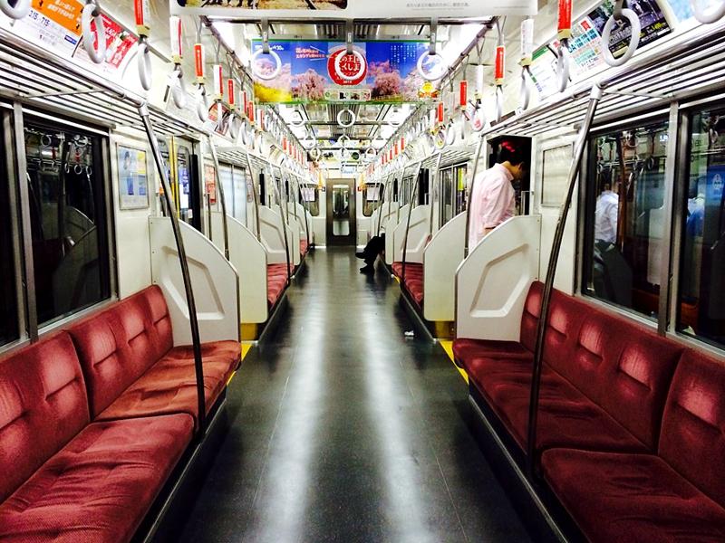 都营地铁三田线6300系列车内部