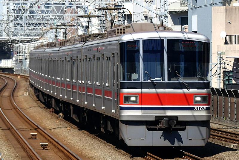 东急电铁3000系列车