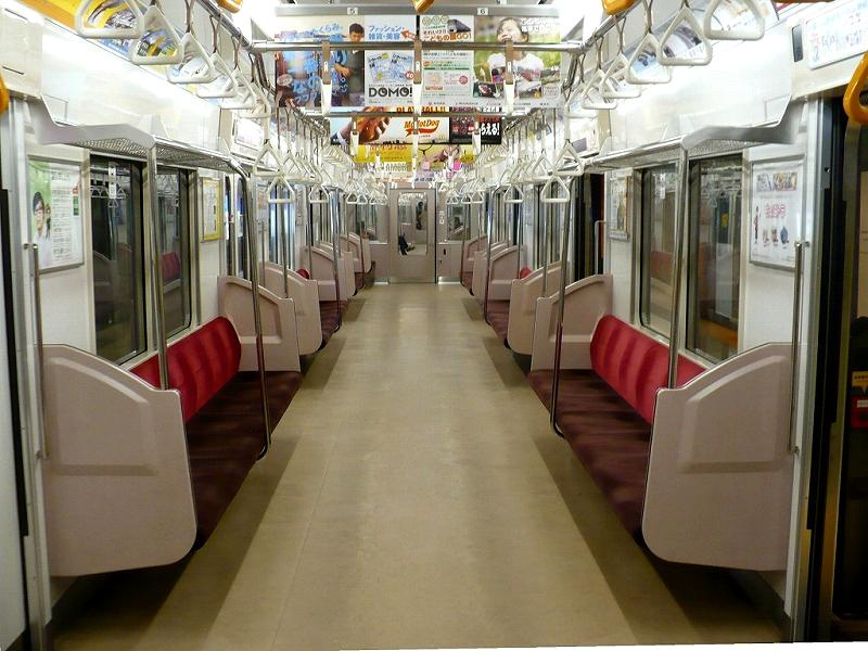 东急电铁3000系列车内部