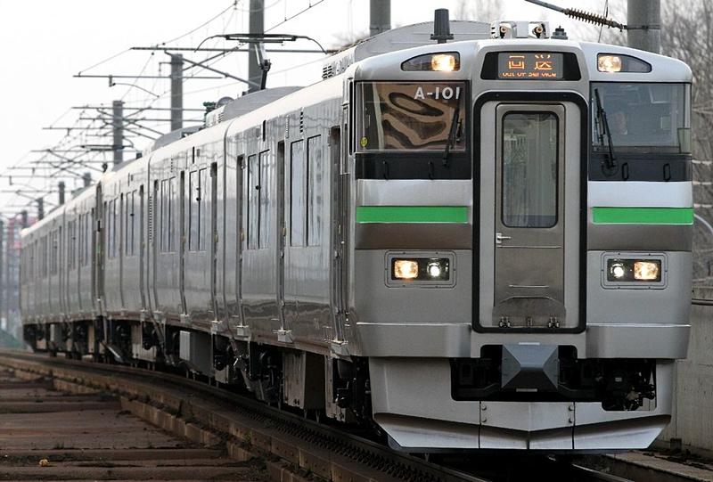 JR北海道735系列车