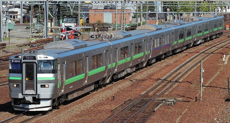 JR北海道733系列车