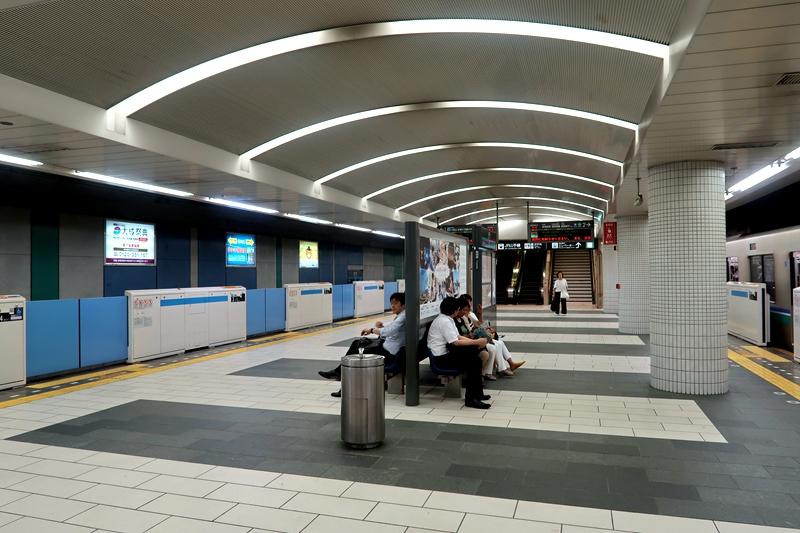 目黑站站台