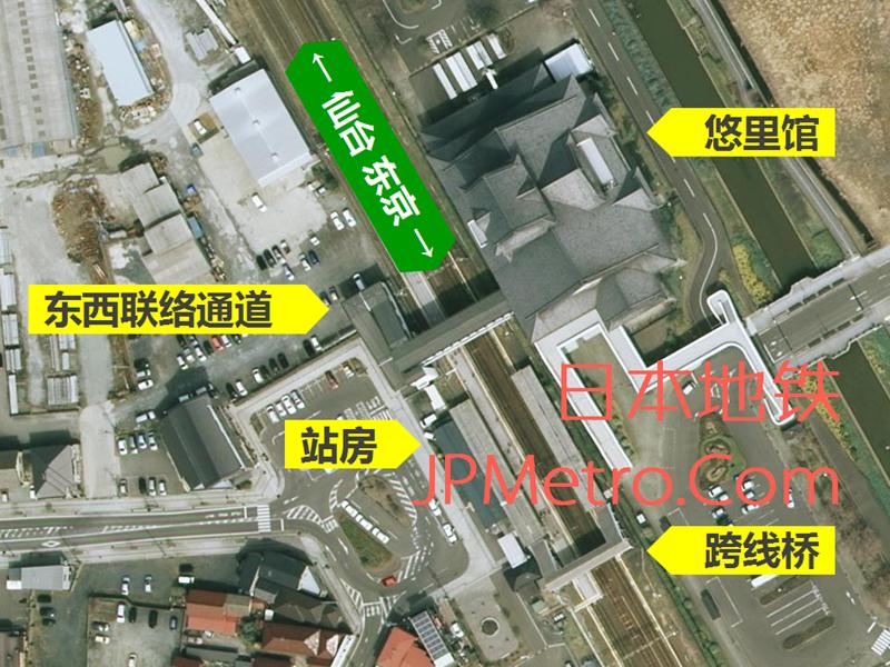 亘理站卫星图