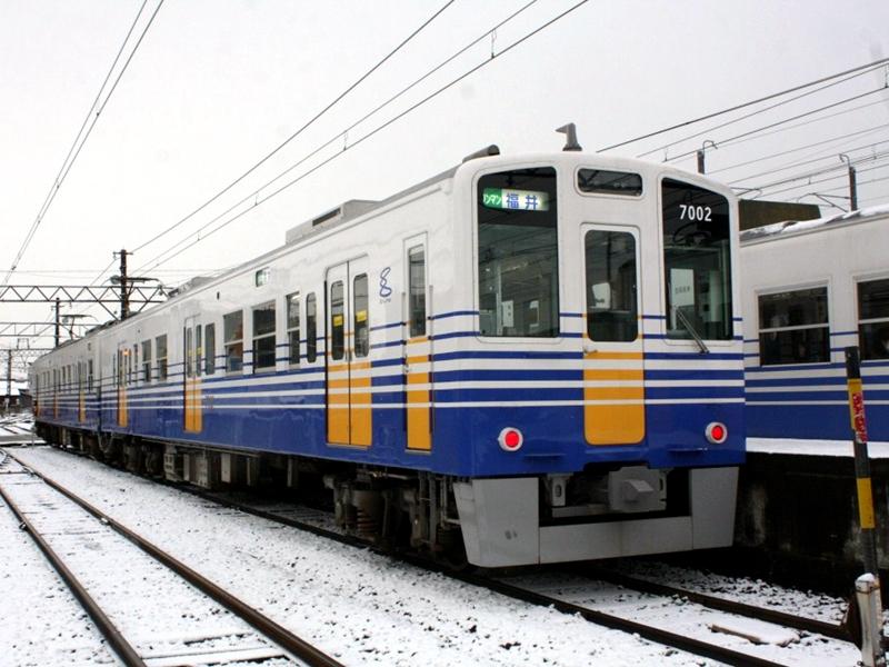 越前铁道MC7000系列车