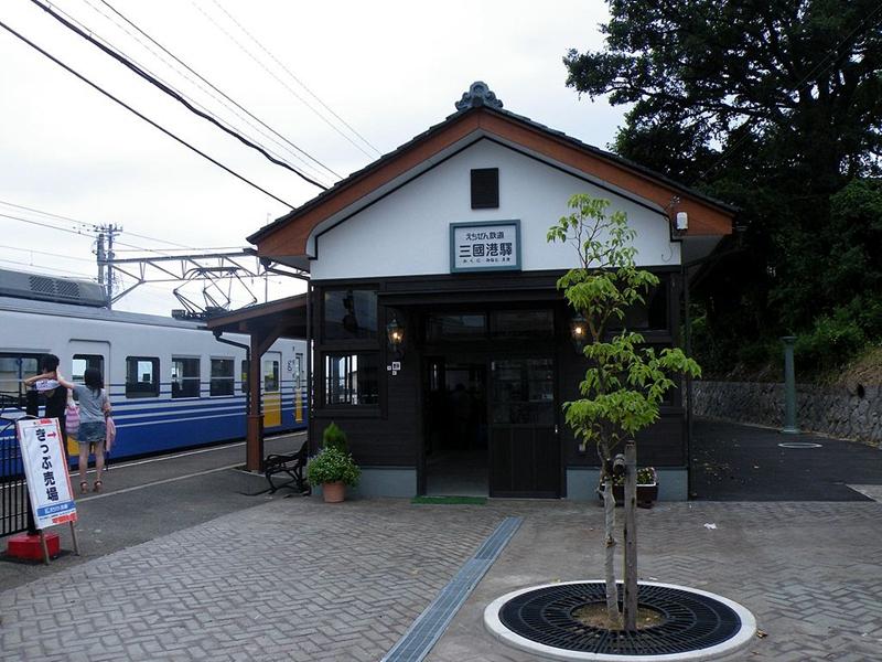 越前铁道三国港站
