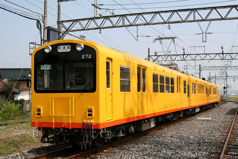 三岐铁道北势线270系列车