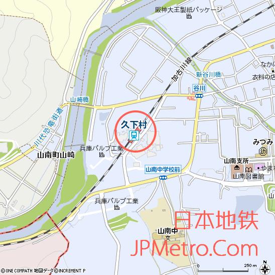 久下村站周边地图