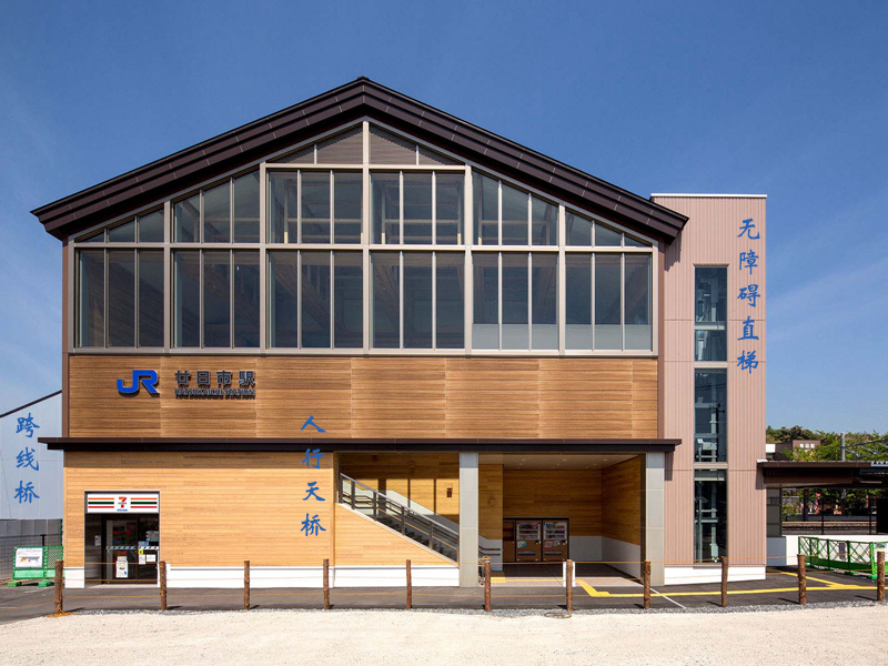 廿日市车站东南侧入口